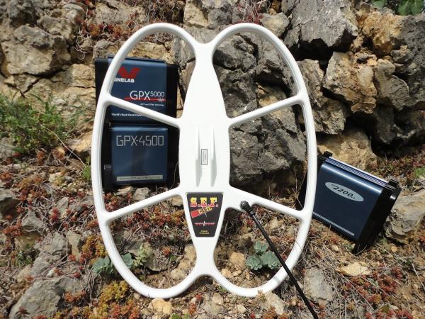 Bobină Detech SEF DD 21×17″ pentru Minelab GPX, GP, SD și White's TDI/TDI Pro/TDI SL